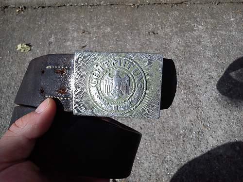 (Finally) Heer belt with buckle