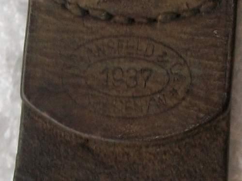 Dransfeld Maker mark on any Buckle