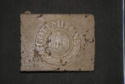 First German Buckle (relic)