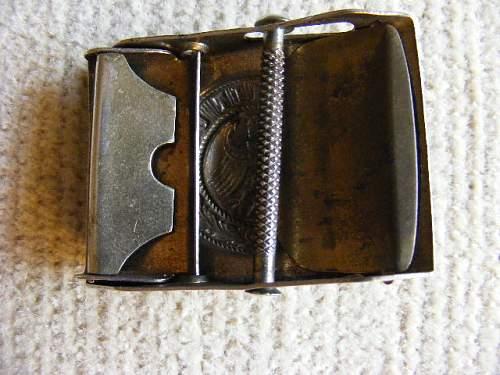 Reichsheer buckle variant?