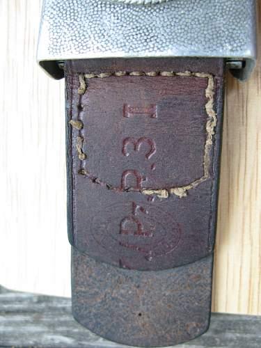 Heer Buckle - Unit Marked