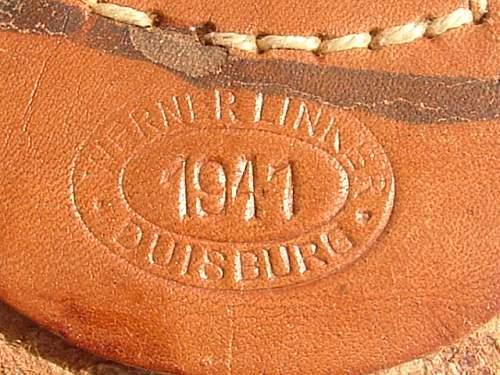 Click image for larger version.  Name:Steel Werner Linker Duisberg Dated 1941 Tab.JPG Views:69 Size:131.5 KB ID:6847