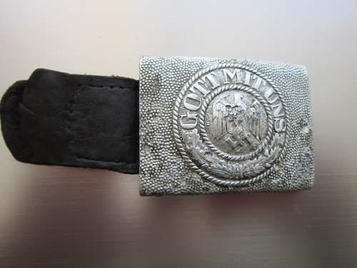 Relic Heer belt and buckle