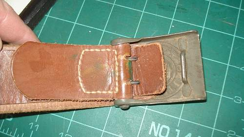 Odd Army Belt and Buckle