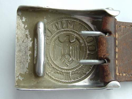 New buckle unknown maker