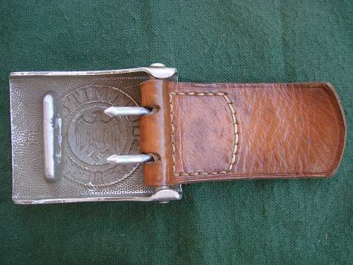 Three new buckles in my Heer collection