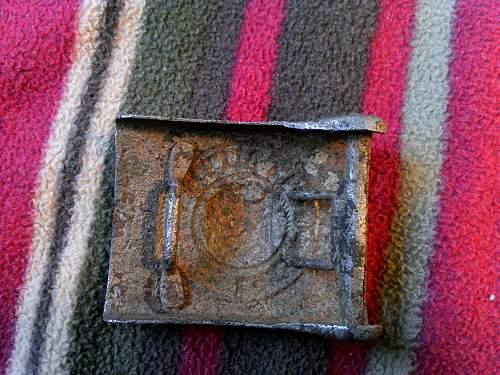 Two Stalingrad Heer Relics