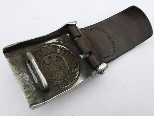 heer buckle with belt