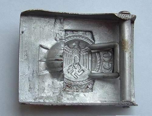 Wehrmacht Heer buckle