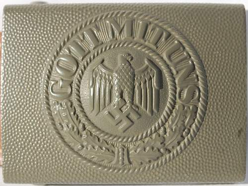 Mint 1938 R.S.&S. Heer Buckle