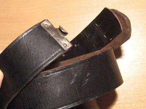 Belt and buckle by JFS , need your help