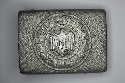 I G.&S. Got Mit Uns Belt Buckle