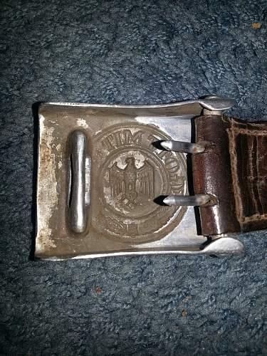 First Belt an Buckle purchase!
