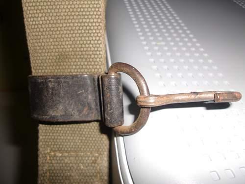 Gott Mit us - Canvas Belt - Assistance Required Please