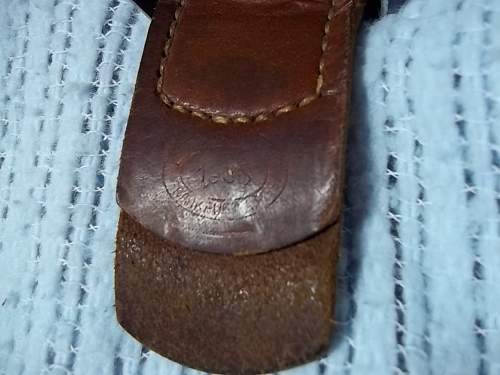 Original Wehrmacht belt and buckle?