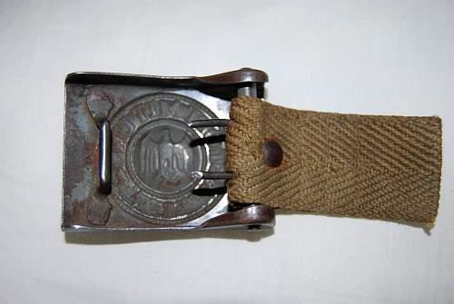 Dak buckle and belt