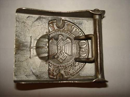 Buckle on the picture