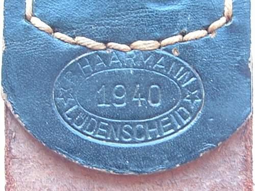 Click image for larger version.  Name:M4_ 10 Steel Bernhard Haarmann 1940 Black Tab Tab.JPG Views:49 Size:133.3 KB ID:804780