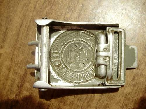 Buckle OLC & hitch G.H.O Gustav Hermann Osang
