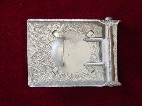 Help ID this buckle/Belt (Wehrmacht parade buckle?)