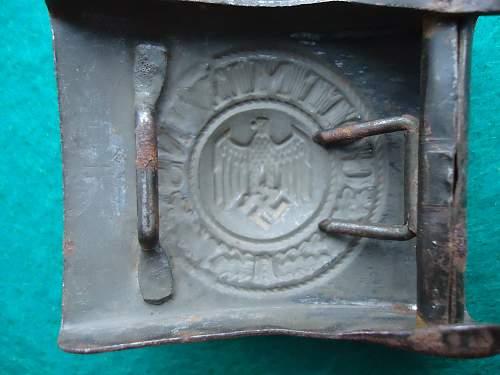 Schneider Steel Heer Buckle 1941