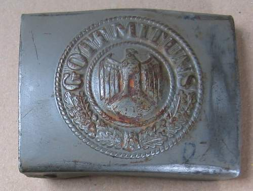 Another denazified buckle