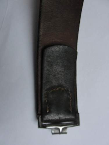Hermann knoller belt and buckle?