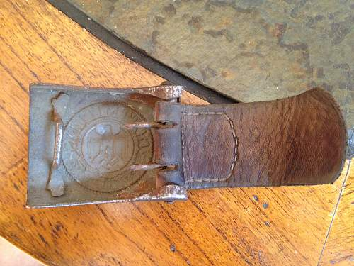 Veteran Bringback Heer Belts, Saved from the Trash; Gently Restored