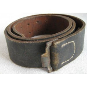 Veteran Bringback Heer Belts, Saved from the Trash; Gently Restored