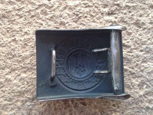 Someone knows an Aurich Heer buckle like this?