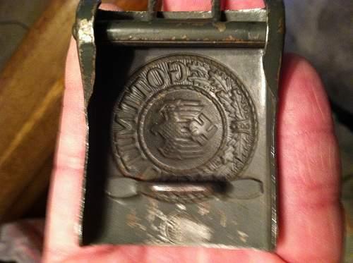 Is this heer belt buckle real or fake?