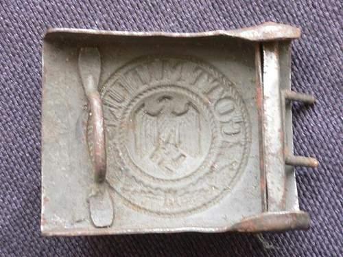 Heer buckle- original??