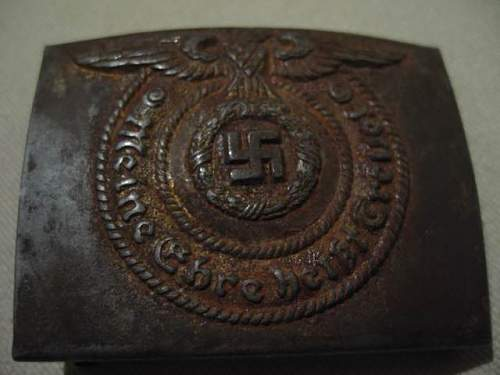 Heer and SS Belt Buckles, RZM Marked and Numbered: Authentic buckles?