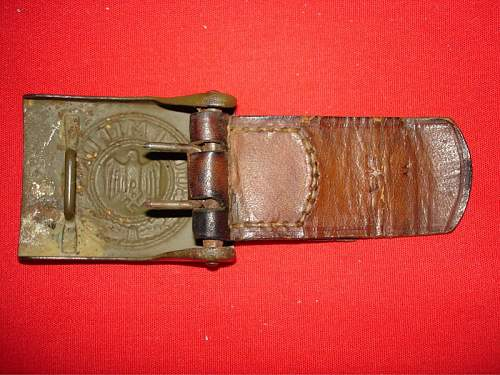 NCO Belt Buckle