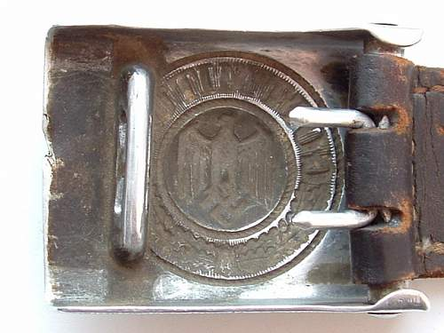 Not frequent two aluminum buckles