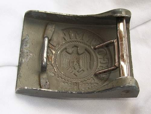 Steel Heer buckles with Aluminium Hooks?