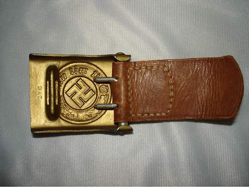 Dransfled buckle for Wewelsburg