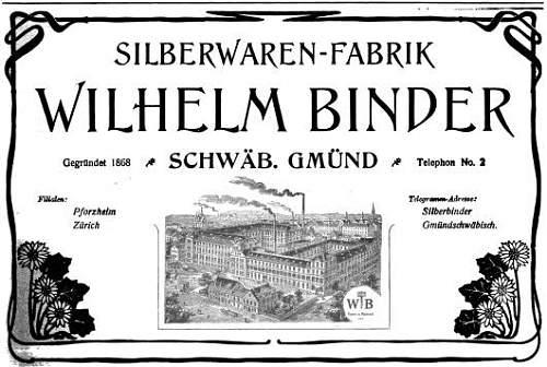 Heer buckle Wilhelm Binder