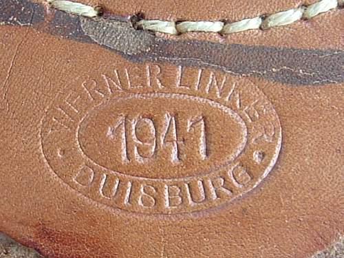 Click image for larger version.  Name:Steel Werner Linker Duisberg Dated 1941 Tab.JPG Views:13 Size:130.8 KB ID:951009