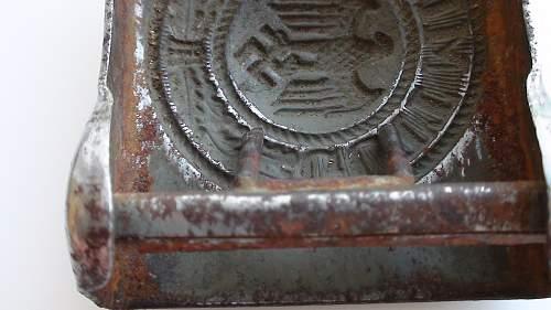 Need Help! Heer Steel Buckle - Fake or Not?