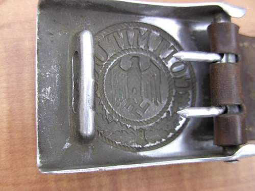 assistance please, fake buckle?
