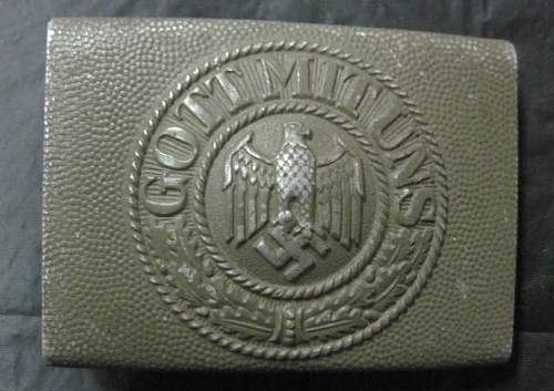 """Heer Buckle trade for """"Minty, Early droop tail"""" Luftwaffe Buckle"""