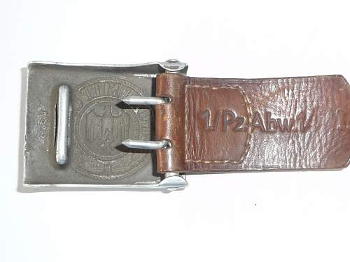 Buckle R.S & S. 1936
