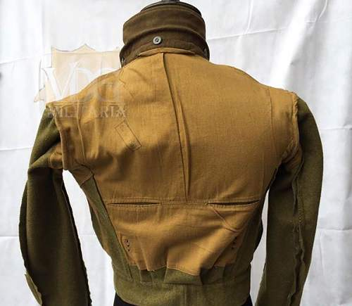 thoughts on this RAD Officer's M44 Tunic?