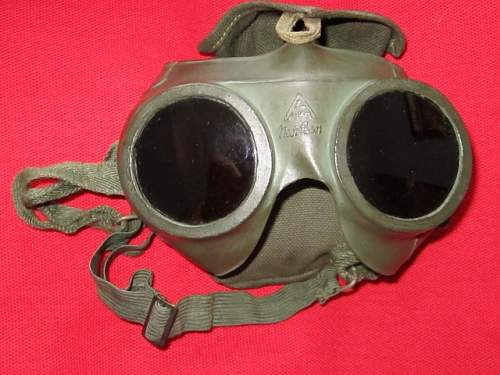 U-Boat Red Tinted Goggles.