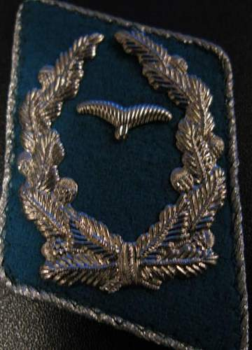 Are these Luftwaffe collar tabs authentic?