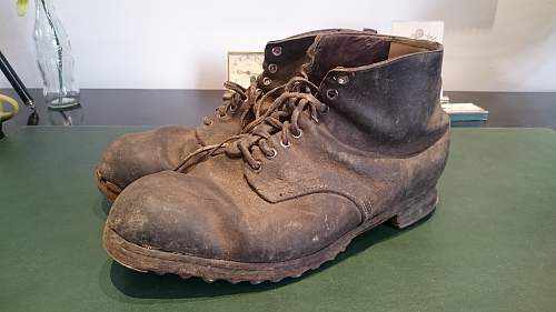 Boots /Shoes found. 4 Pairs. Need Help.