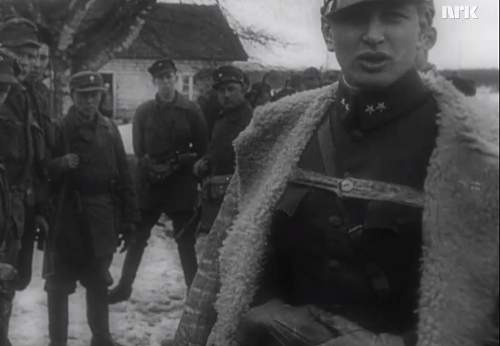Swedish M1909 Style coats in use by the Germans