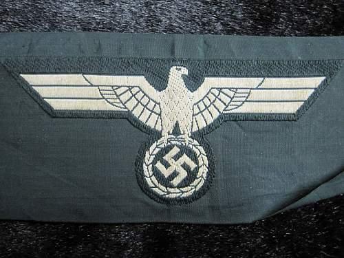 Eagle Badges: real or fake