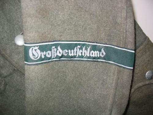 grossdeutschland tunic